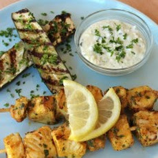 Sephardic Fish Skewers