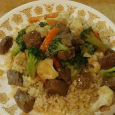 Vegetable-Beef Stir Fry
