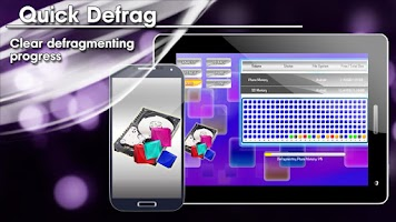 Screenshot of Quick Defrag HD FREE