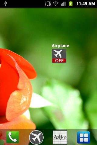 Airplane Widget