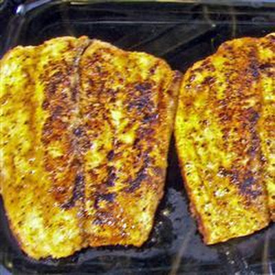 Cajun Blackened Sea Bass