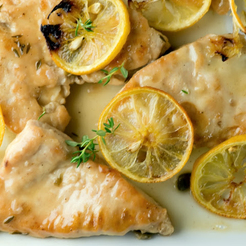 SLOW ROASTED GARLIC AND LEMON CHICKEN Recipe | Yummly