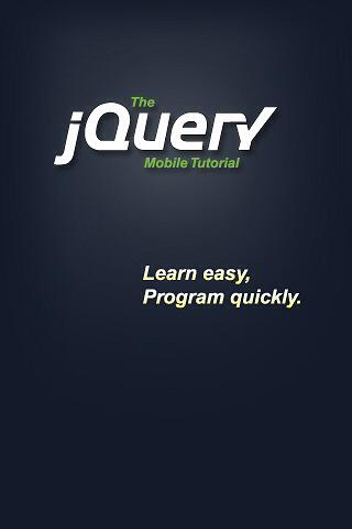 The jQuery Mobile Tutorial