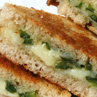 Sautéed Jalapeño and Aged Jack Grilled Cheese