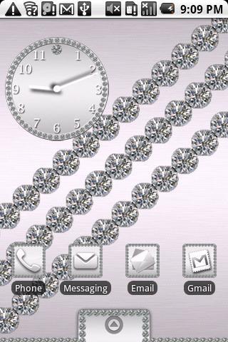 Platinum Diamond Theme HD