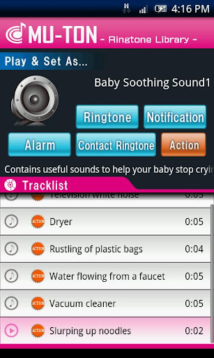 Baby Soothing Sound Library1