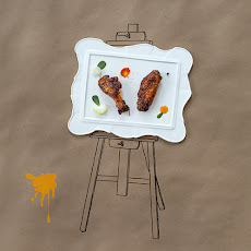 Broiled Chicken Wings with Spicy Peach Glaze