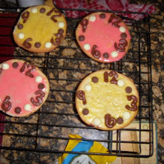 Clock Cookies - Let's Tell Time!