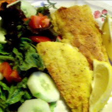 Fish Fillets in Cornmeal (Polenta) Crust