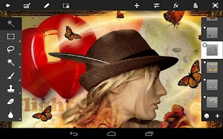 Screenshot of Adobe Photoshop Touch