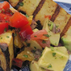 Grilled Tofu with Grapefruit and Avocado Salsa