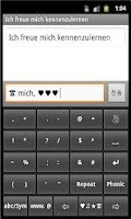 Screenshot of German-English Phonic Keyboard