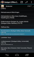 Screenshot of Stuttgart Offline City Map