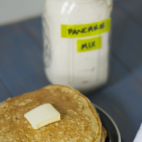 Homemade Pancake Mix + My Favorite Buttermilk Pancakes