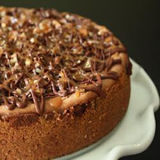 Chocolate, Caramel and Pecan Cheesecake