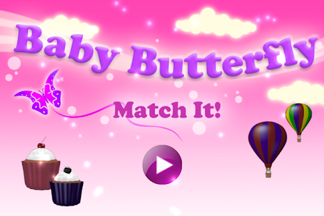 Match It Game - Baby Butterfly - screenshot