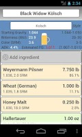 Screenshot of BrewR - Beer Recipe Manager