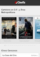 Screenshot of Cinefis