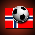 Norwegian football flags icon