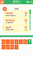 Screenshot of 3 Letters: Guess the word!