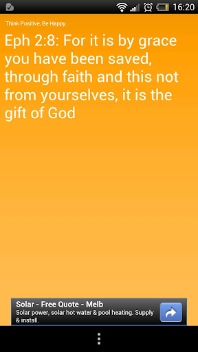 New for the Bible App for Android: Verse of the Day Widget ...