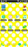 Screenshot of Pastel GO Launcher EX Theme