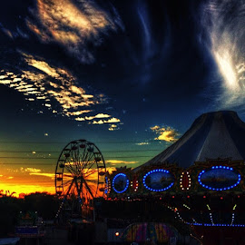 Carnival Sunset!!! by Nicolas Donadio - City,  Street & Park  Amusement Parks