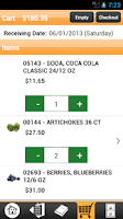 Screenshot of Get Fresh Produce Checkout