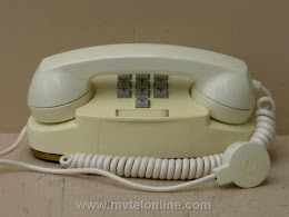 Desk Phones - Western Electric 1702B White Princess $150 1