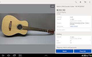 Screenshot of eBay