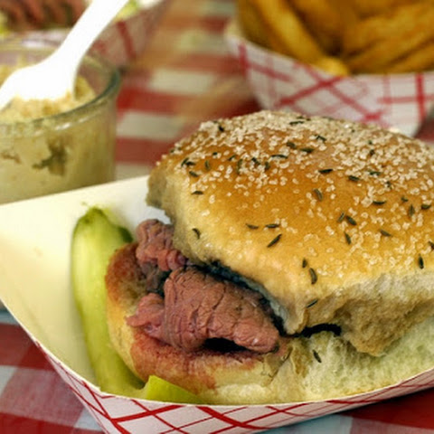 "Roast Beef for ""Beef on Weck"""