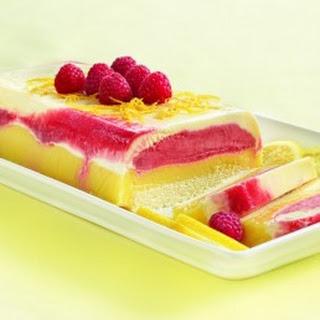 Lemon Raspberry Ice Cream Cake Recipes
