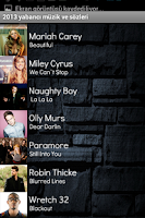 Screenshot of 2013 En İyi Yabancı Müzikler