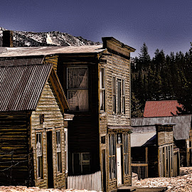 Ghost Town -  St. Elmo Colorado by Paul Downs - City,  Street & Park  Historic Districts