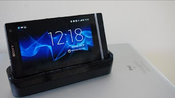 Screenshot of Sony Xperia S Desk Clock