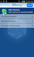 Screenshot of RCBC AccessOne-Mobile