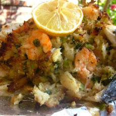 Stuffed Flounder La Fourche