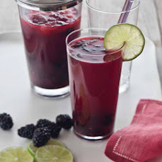 Blackberry Mojitos