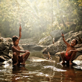 Children Story by Pimpin Nagawan - Babies & Children Children Candids