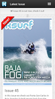 Screenshot of IKSURFMAG Free Kitesurfing Mag
