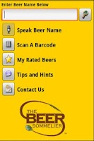 Screenshot of The Beer Expert