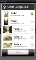 Screenshot of France Parisian Live Wallpaper