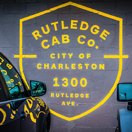 Rutledge Cab Co. by Eric Galey - Buildings & Architecture Other Exteriors ( cab, charleston, rutledge, yellow, south carolina )