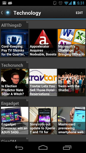 pulse-news for android screenshot