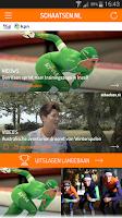 Screenshot of schaatsen.nl