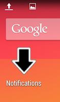 Screenshot of Notification Flick