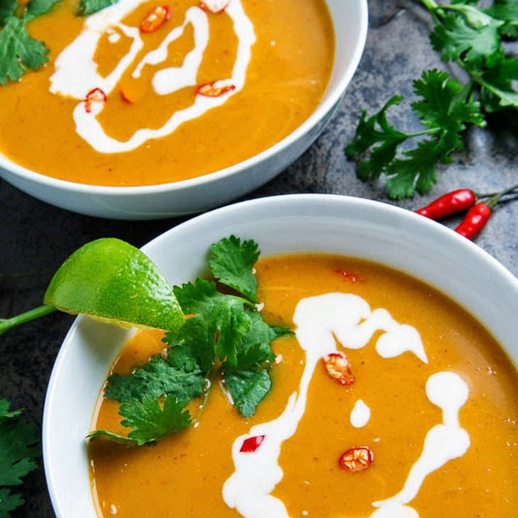 Thai Pumpkin Soup Recipe | Yummly