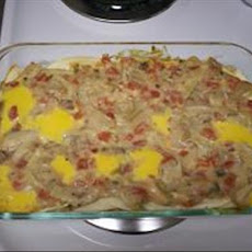 Easy King Ranch Casserole