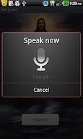 Screenshot of Ask Jesus