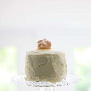 Peach Buttercream Icing